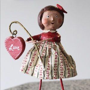 Lori Mitchell ESC Love Heart Girl Valentines Day